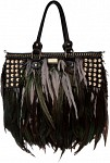Angel Jackson Feather Bag